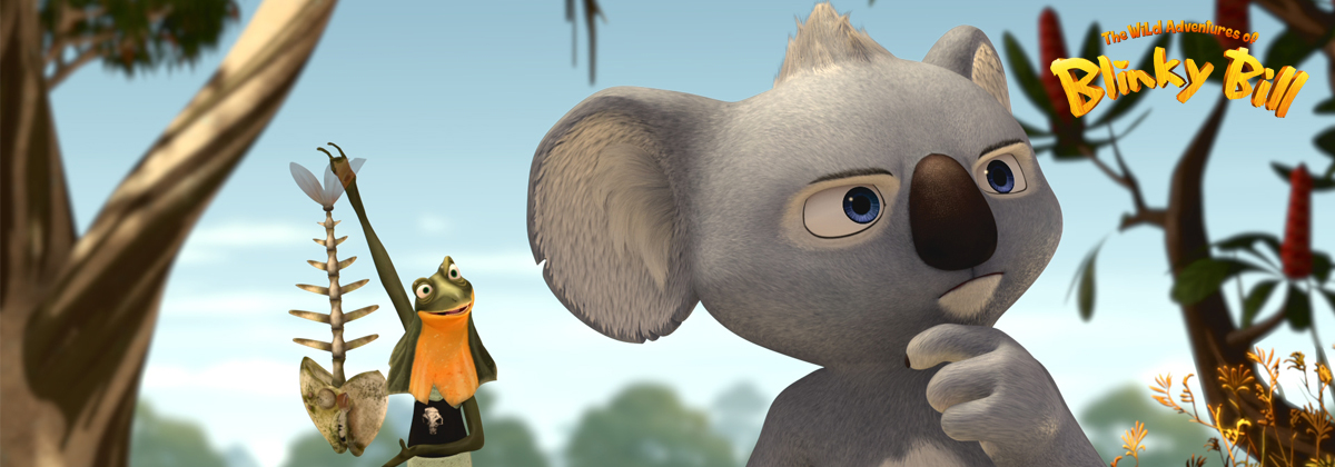 header image Blinky Bill